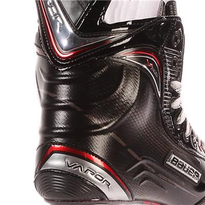 S17 Vapor X600 Ice Skate - Heel Close up (Bauer Vapor X600 Ice Hockey Skates - 2017)