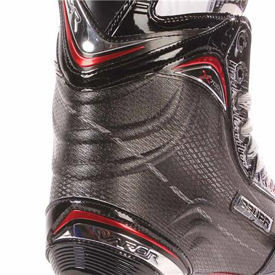 S17 Vapor X700 Ice Skate - Heel Close up (Bauer Vapor X700 Ice Hockey Skates - 2017 - Senior)