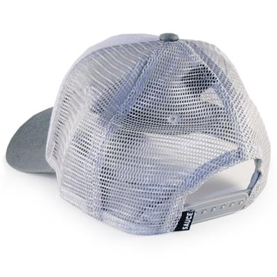 Bubble Wrap - Back View (Sauce Hockey Bubble Wrap Adjustable Hockey Hat - Blue)