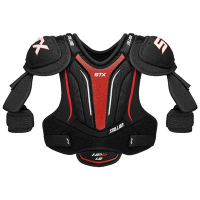 Front (STX Stallion HPR 1.2 Hockey Shoulder Pads)