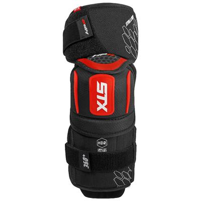 Front (STX Stallion HPR Hockey Elbow Pads)