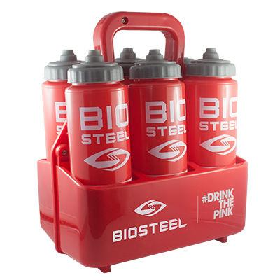 Team Water Bottle Carrier Bottles Not Included Biosteel