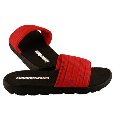 Red with Blue (SummerSkates Sandals)