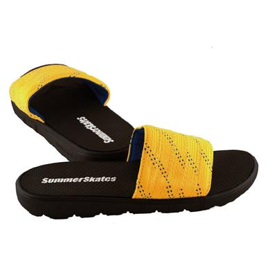 Yellow with Blue (SummerSkates Sandals)