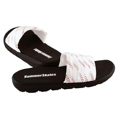 White with Red (SummerSkates Sandals)