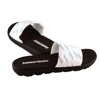 White with Black (SummerSkates Sandals)