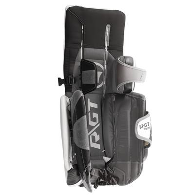 Unstrapped - Full Leg Channel (Warrior Ritual GT Classic Goalie Leg Pads - Intermediate)