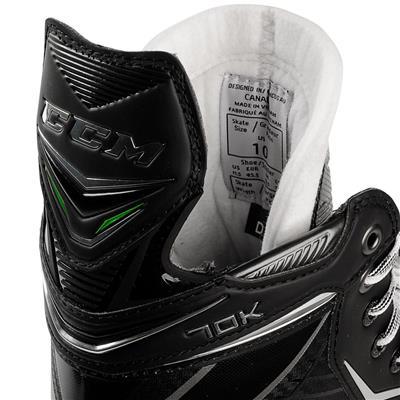 Tongue Shot (CCM Ribcor 70K Ice Hockey Skates - Junior)