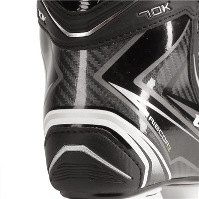 Right Skate - Outside Closeup (CCM Ribcor 70K Ice Hockey Skates)