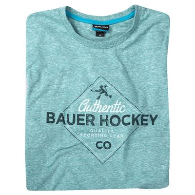 (Bauer Vintage Authentic Short Sleeve Hockey Shirt - 2017)