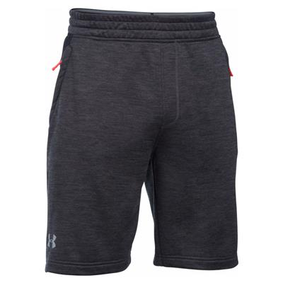 Front View (Under Armour Tech Terry Short - Carbon Heather)