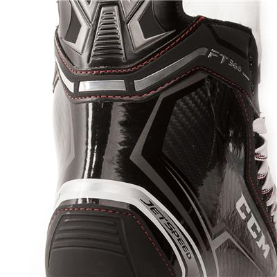 Right Skate Outside Angle (CCM Jetspeed FT365 Ice Hockey Skates)