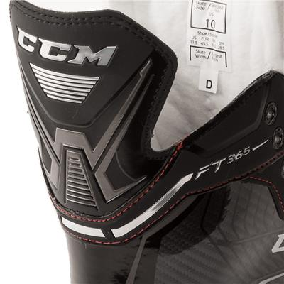Rear Tongue Shot (CCM Jetspeed FT365 Ice Hockey Skates)