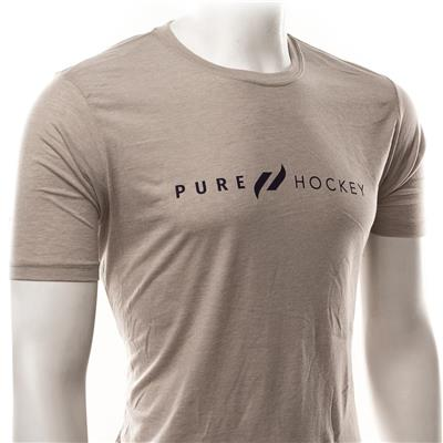 (Pure Hockey Classic Silver Tee - Adult)
