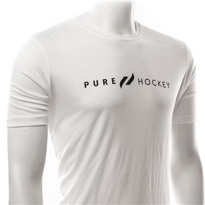 (Pure Hockey Classic White Tee - Adult)