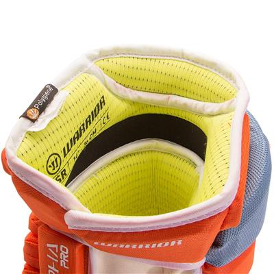 Inside - Closeup (Warrior Alpha Pro Hockey Gloves)