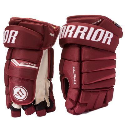 (Warrior Alpha Pro Hockey Gloves)