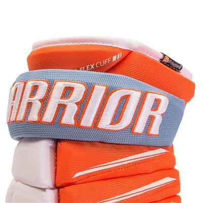 Cuff View (Warrior Alpha Pro Hockey Gloves - Junior)