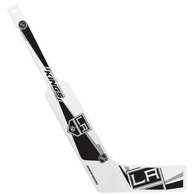 (Sher-Wood Plastic Goalie Mini-Stick - Los Angeles Kings)