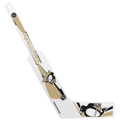 (InGlasco Plastic Goalie Mini-Stick - Pittsburgh Penguins)