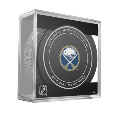 (Sher-Wood NHL Official Game Puck - Buffalo Sabres)