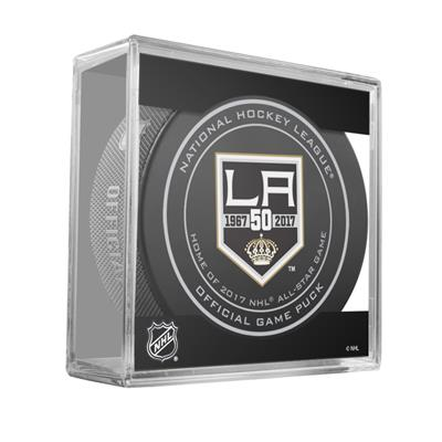 (Sher-Wood NHL Official Game Puck - Los Angeles Kings)
