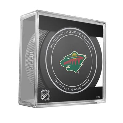 (Sher-Wood NHL Official Game Puck - Minnesota Wild)