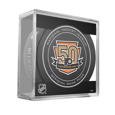 (Sher-Wood NHL Official Game Puck - Philadelphia Flyers)