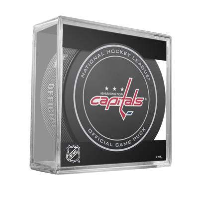 (Sher-Wood NHL Official Game Puck - Washington Capitals)