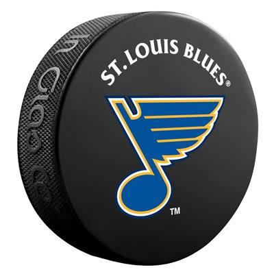 (InGlasco NHL Basic Logo Puck - St. Louis Blues)