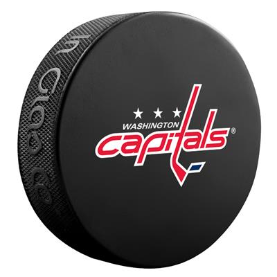 (Sher-Wood NHL Basic Logo Puck - Washington Capitals)