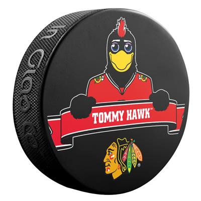 (Sher-Wood NHL Mascot Souvenir Puck - Chicago Blackhawks)