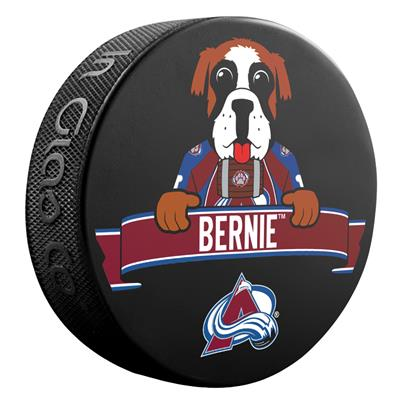 (Sher-Wood NHL Mascot Souvenir Puck - Colorado Avalanche)