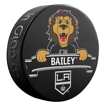 (Sher-Wood NHL Mascot Souvenir Puck - Los Angeles Kings)