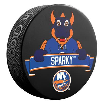 (Sher-Wood NHL Mascot Souvenir Puck - New York Islanders)
