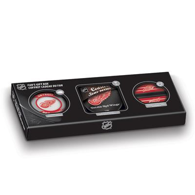 (Sher-Wood NHL Fan Gift Box - Detroit Red Wings)