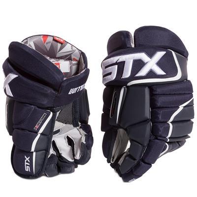 Navy/White (STX Stallion HPR Hockey Gloves - Senior)