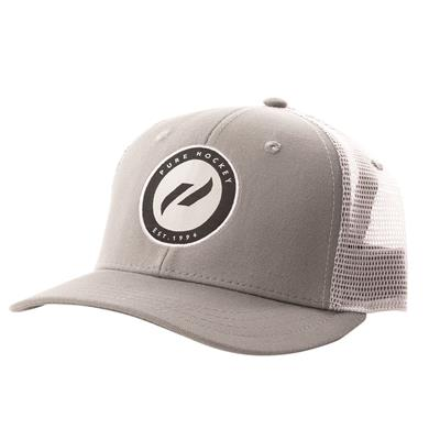 (Pure Hockey Steel/Black Mesh Back Hat)