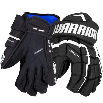 Black/White (Warrior Covert QRL3 Hockey Gloves)