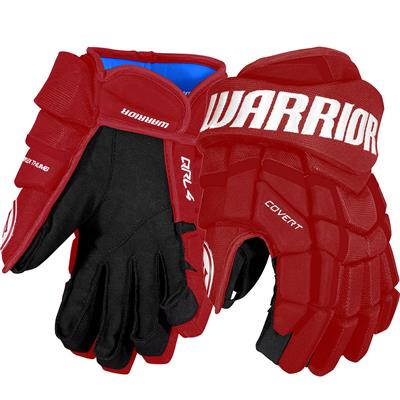 Maroon (Warrior Covert QRL4 Hockey Gloves)