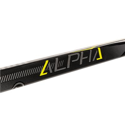 Shaft View (Warrior Alpha QX Composite Hockey Stick - Youth)