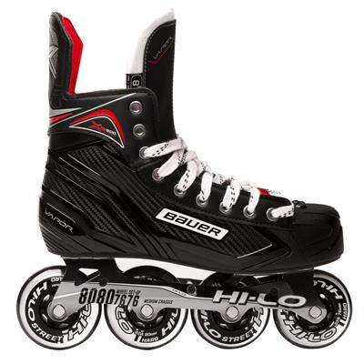 Outside View (Bauer Vapor XR300 Inline Hockey Skates - 2017 Model)