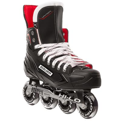 Toe View (Bauer Vapor XR300 Inline Hockey Skates - 2017 Model - Junior)