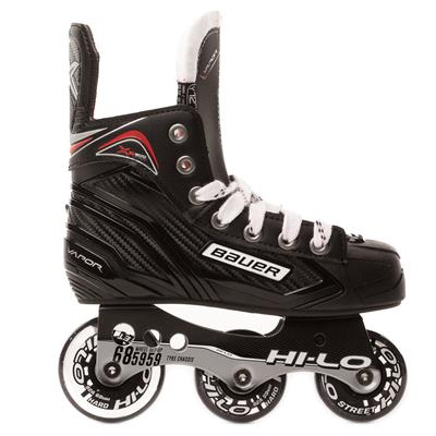 Outside View (Bauer Vapor XR300 Inline Hockey Skates - 2017 Model - Youth)