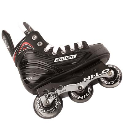 Chassis View (Bauer Vapor XR300 Inline Hockey Skates - 2017 Model - Youth)