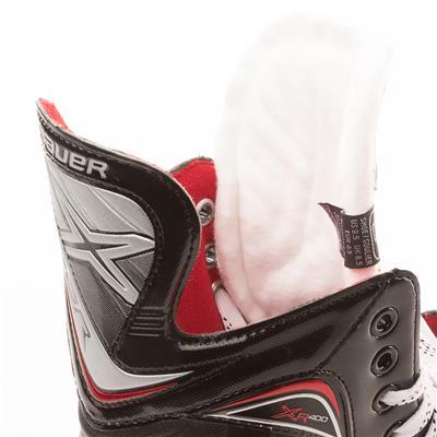 Tendon and Tongue (Bauer Vapor XR400 Inline Hockey Skates - 2017 Model)