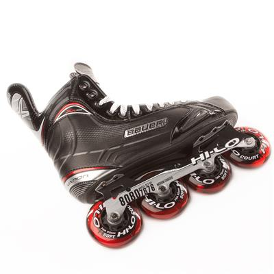 Chassis View (Bauer Vapor XR400 Inline Hockey Skates - 2017 Model - Junior)