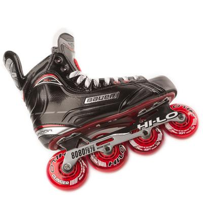 Chassis View (Bauer Vapor XR500 Inline Hockey Skates - 2017 Model)