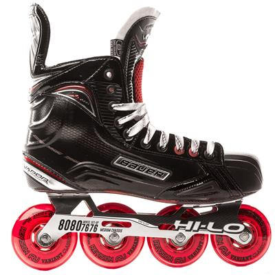 Outside View (Bauer Vapor XR600 Inline Hockey Skates - 2017 Model)