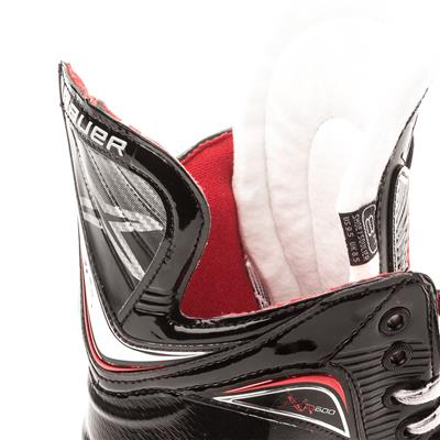 Tendon and Tongue (Bauer Vapor XR600 Inline Hockey Skates - 2017 Model)